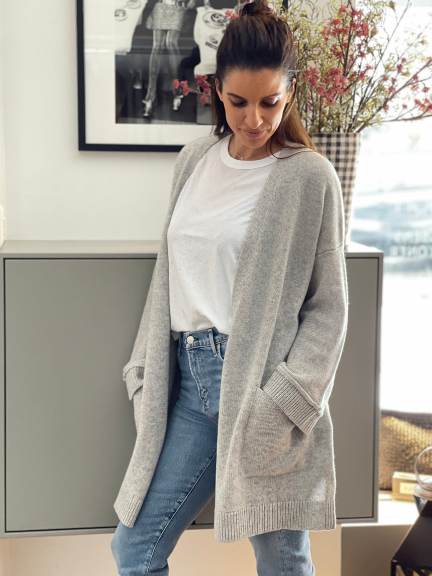 Cashmere Cardigan Long
