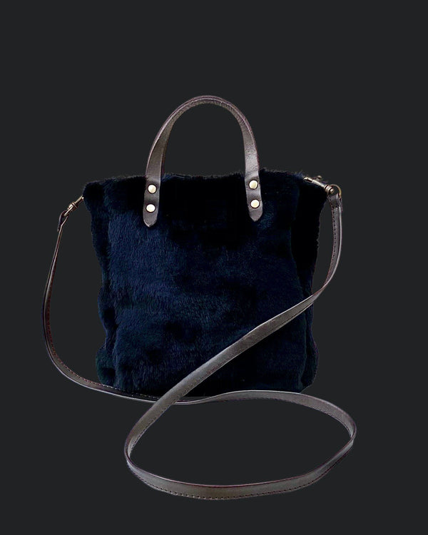 Crossbody Bag Mouton Retourné Mini