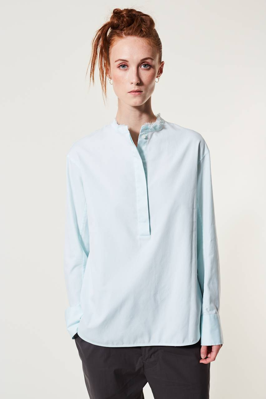 Nura Raw Edge Bluse
