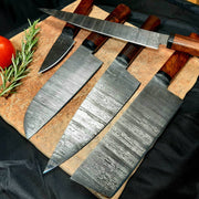 Carbonroq Kuro Bara Japanese Knife Set