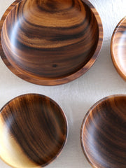 Natural Acacia Wood Bowls
