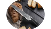 Carbonroq Executive Bread Knife 8""