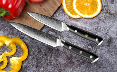 Onyx Collection 2 Piece Japanese Knife Set