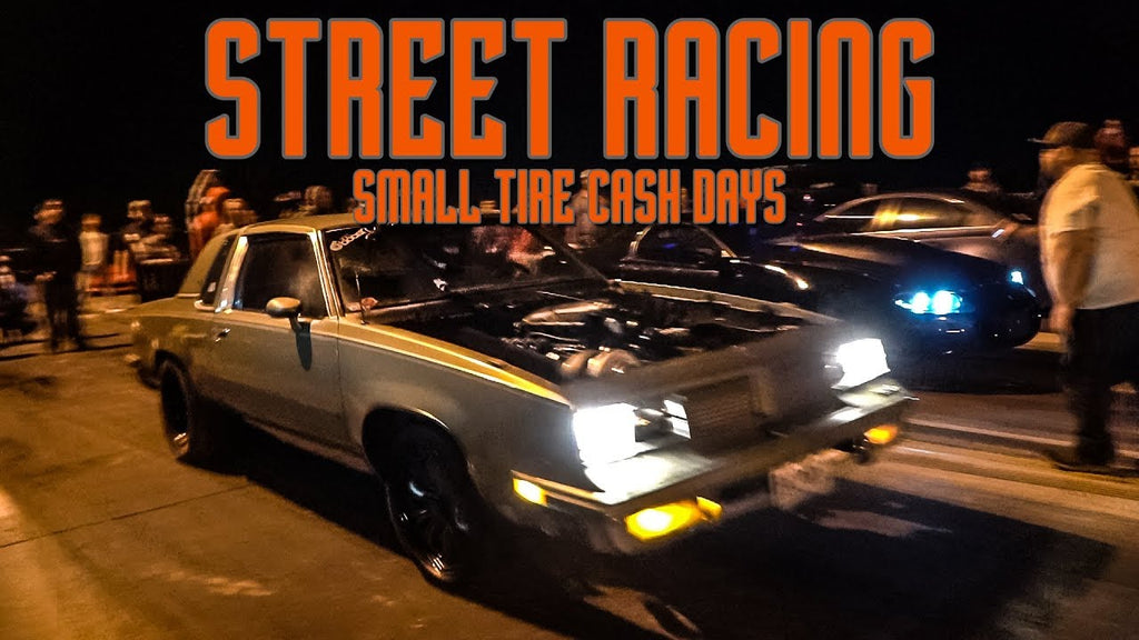 STREET RACING for CASH! Beater Bomb Turbo Mustang, GBody, Nitrous Camaro, Trans Am, Colorado
