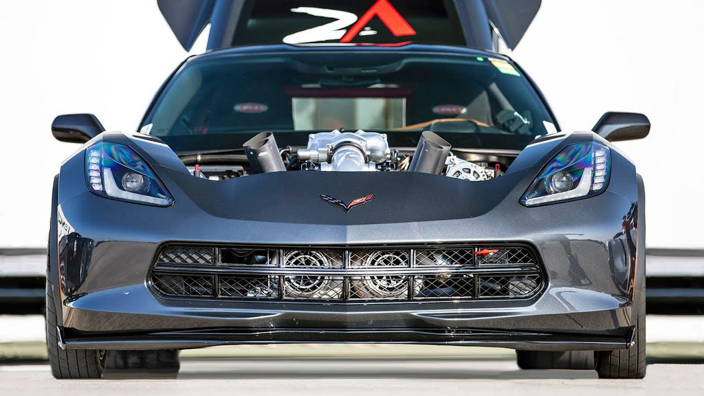 World's FASTEST C7 Corvette! - Finally hitting 200mph!