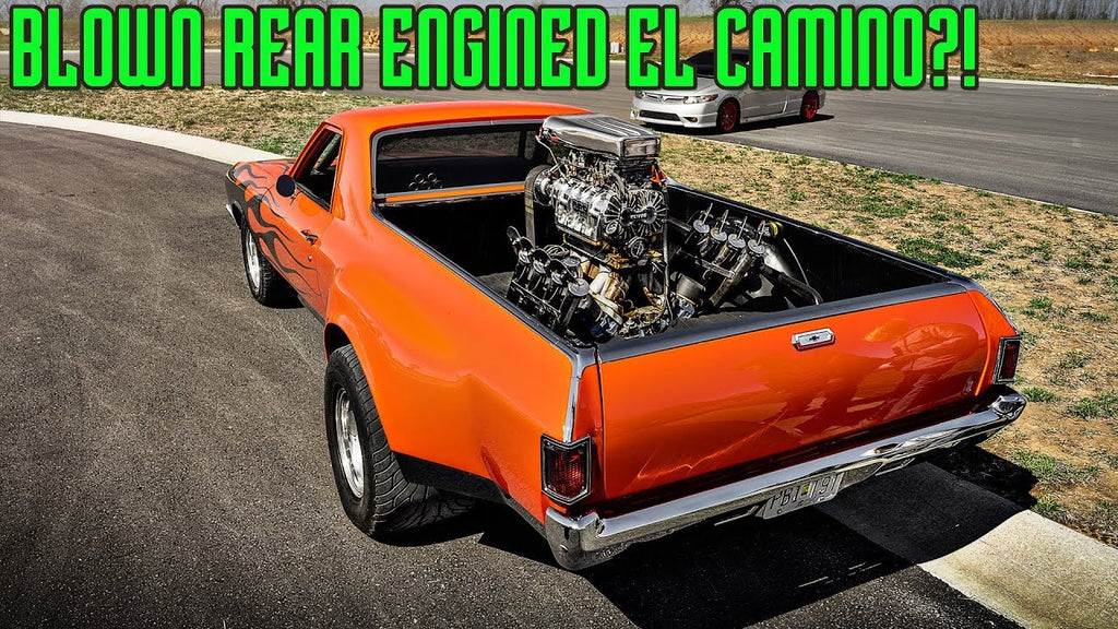 Blown REAR ENGINED El Camino?!