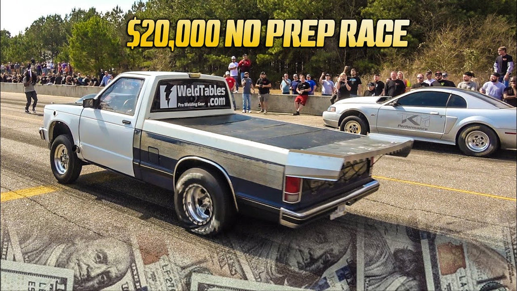 Street Racing Channel vs John Doc + More at WILD $20,000 No Prep Race