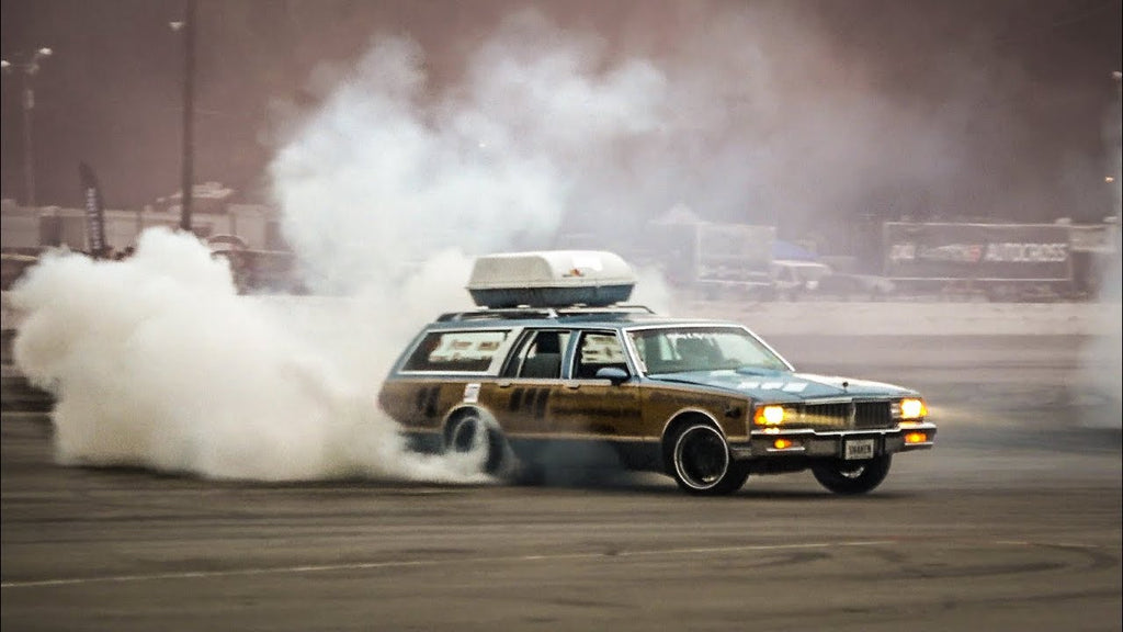 AWESOME Wagon Burnout at LS Fest 2018