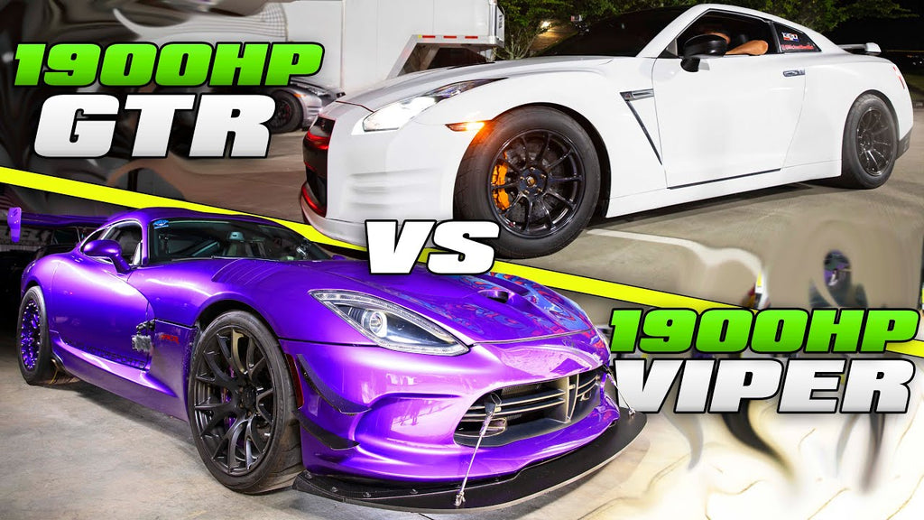 SUPERCAR STREET RACING! | Twin Turbo Viper & GTR's