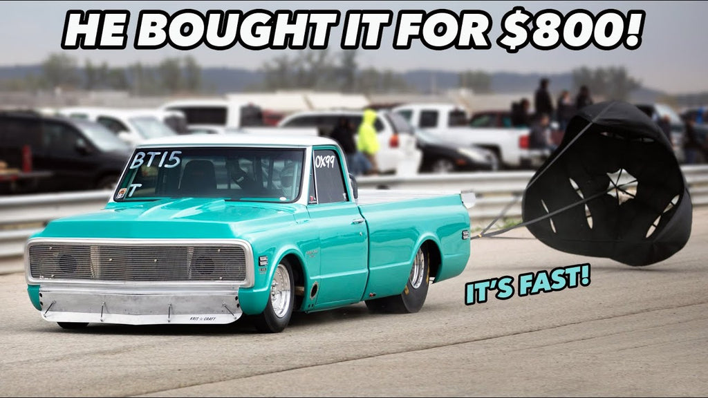His First Car - Turbo C10 with a LOT of HISTORY!