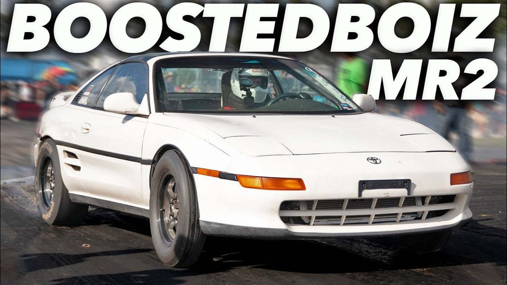 BoostedBoiz twin turbo MR2 is DIALED IN! (Fastest Pass Yet!)