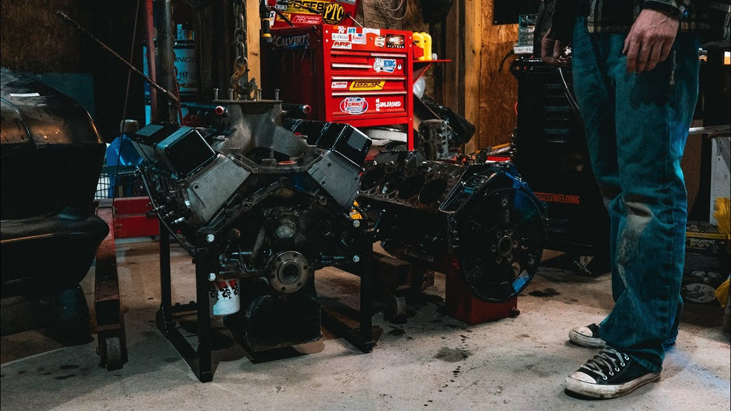 The S-10's New Engine is back at the Shop & Ready to assemble