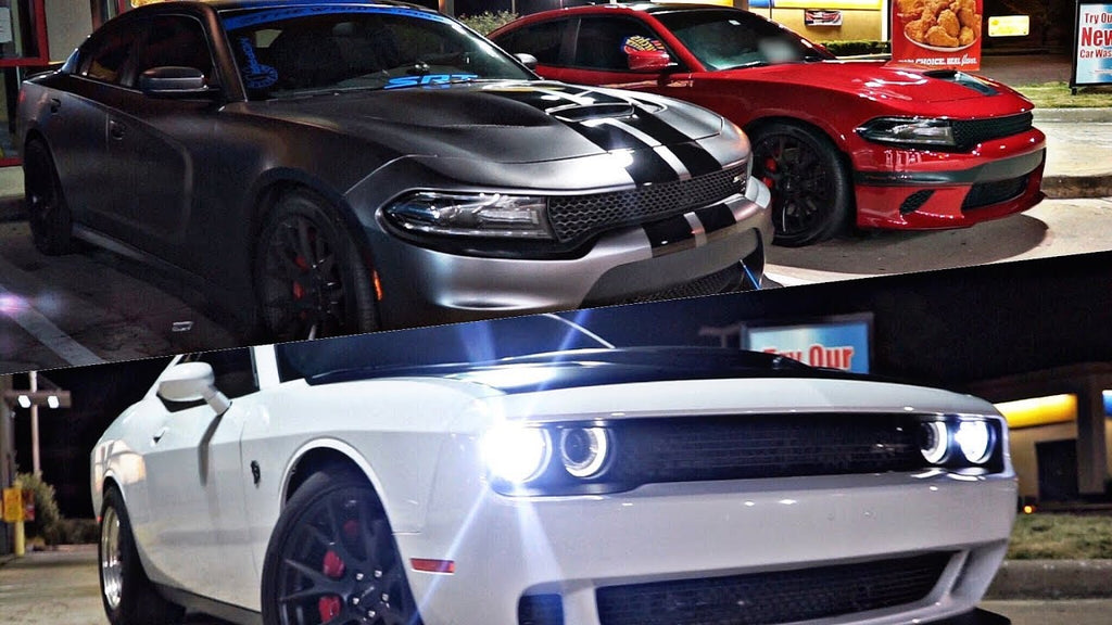 Battle of the Hellcats! + Nitrous C6 Z06, 800hp 240SX, Boosted Viper & MORE!!!