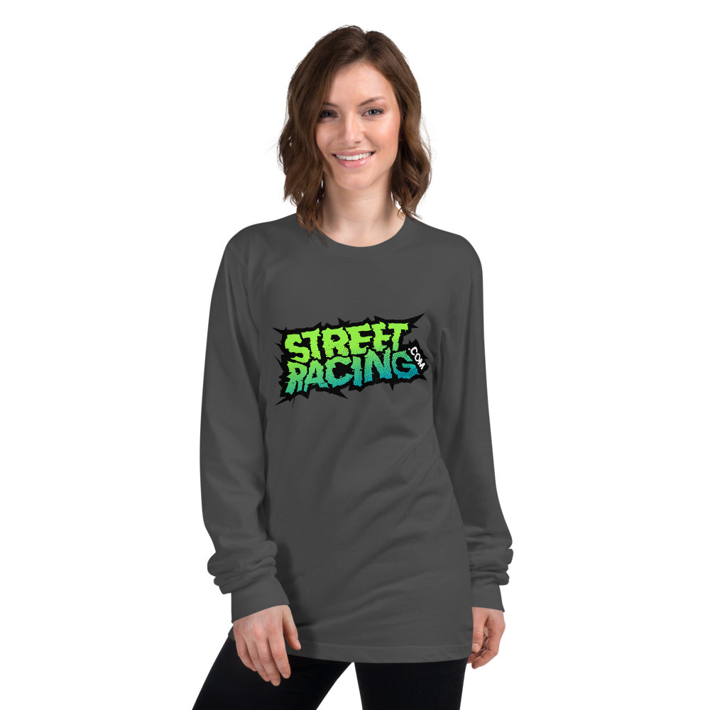 Long sleeve StreetRacing.com T-Shirt