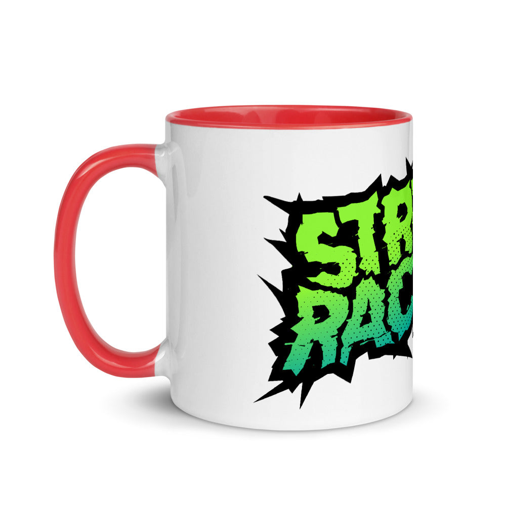 StreetRacing.com Mug with Color Inside