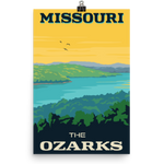 Missouri The Ozarks Poster