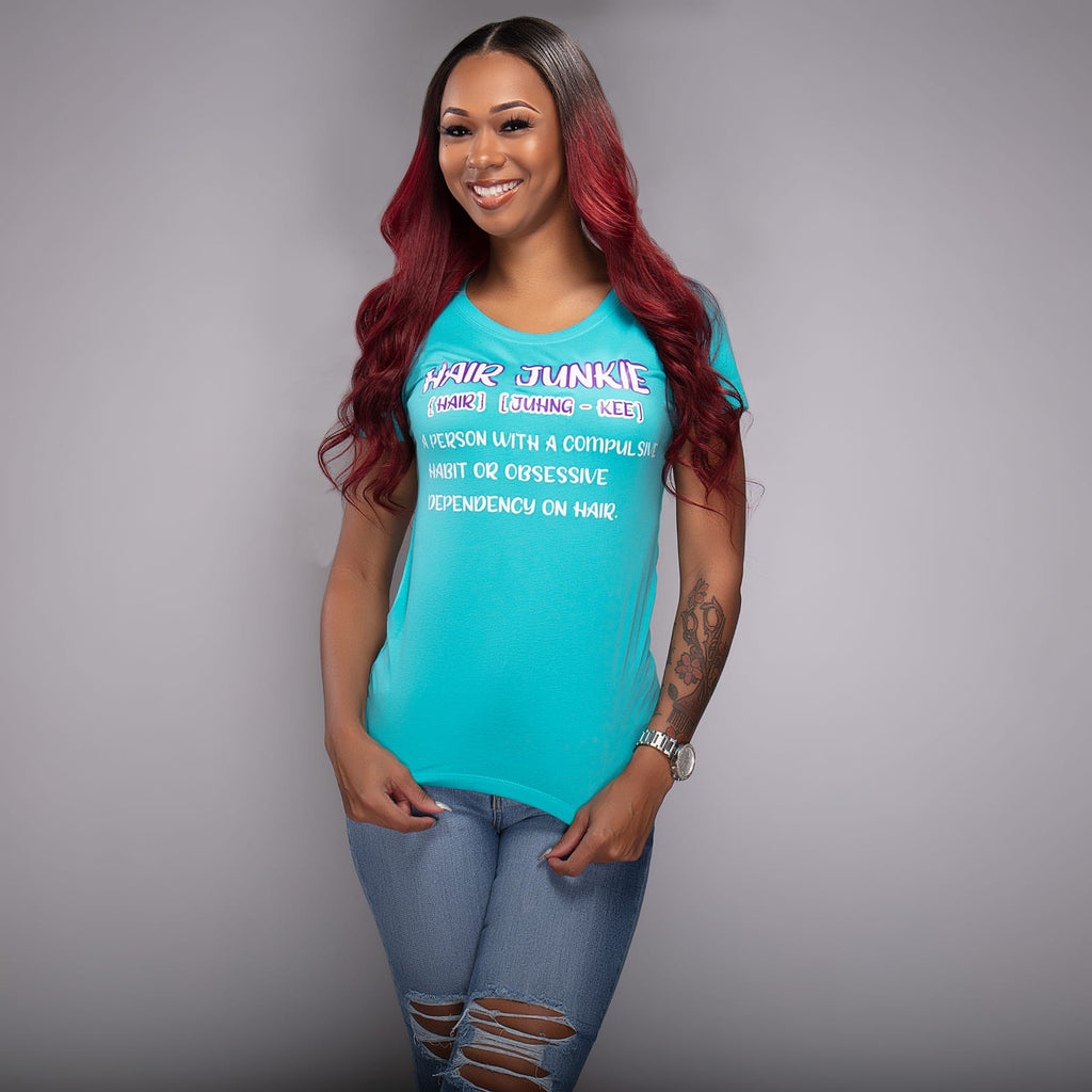 Hair Junkie Definition T-Shirt