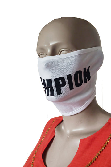 Champion White Mask (Pack Of 3)