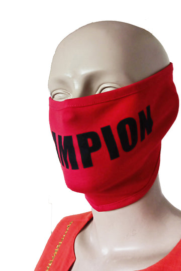 Champion Red Mask (Pack Of 3)