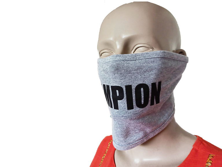 Champion Grey Mask (Pack Of 3)