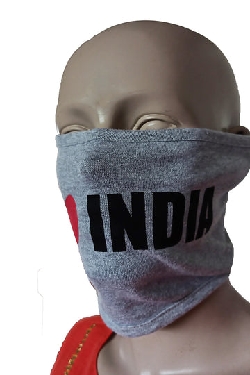 India Grey Mask (Pack Of 3)