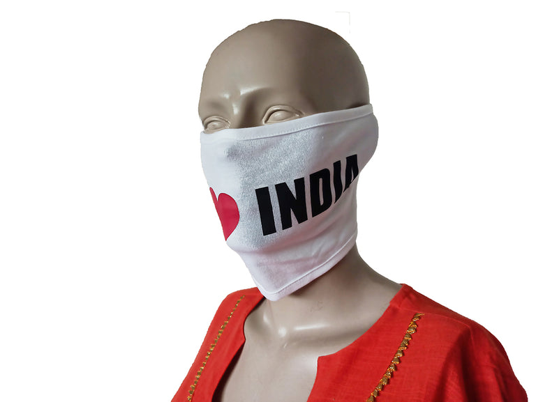 India White Mask (Pack Of 3)