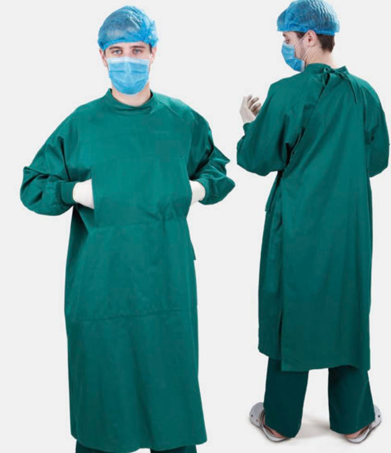 MEDICAL REUSABLE COTTON GOWN