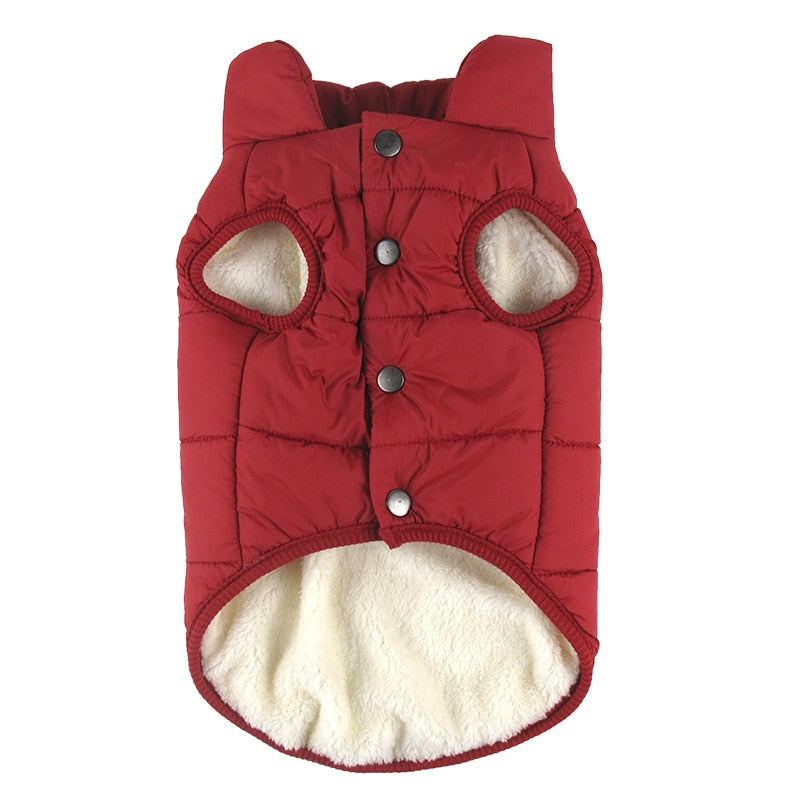 Winter Pet Coat Cloth