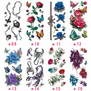 Trendy 3D Tattoo Stickers (20PCS)