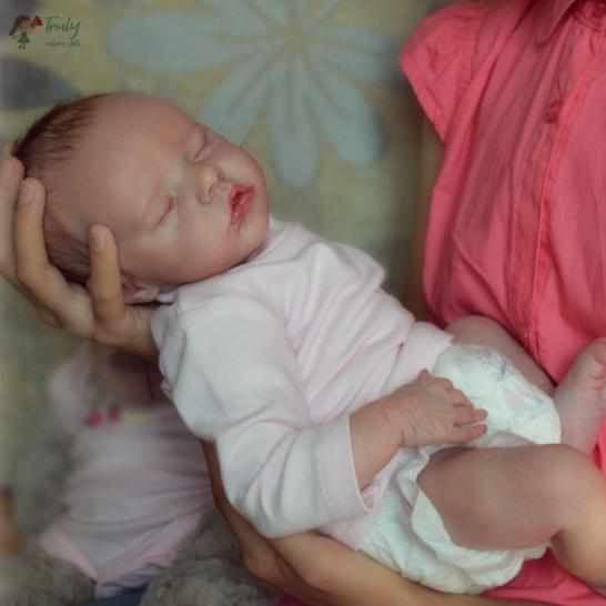 "[MID-YEAR OFFER] 17""Named Macy Reborn Baby Doll"