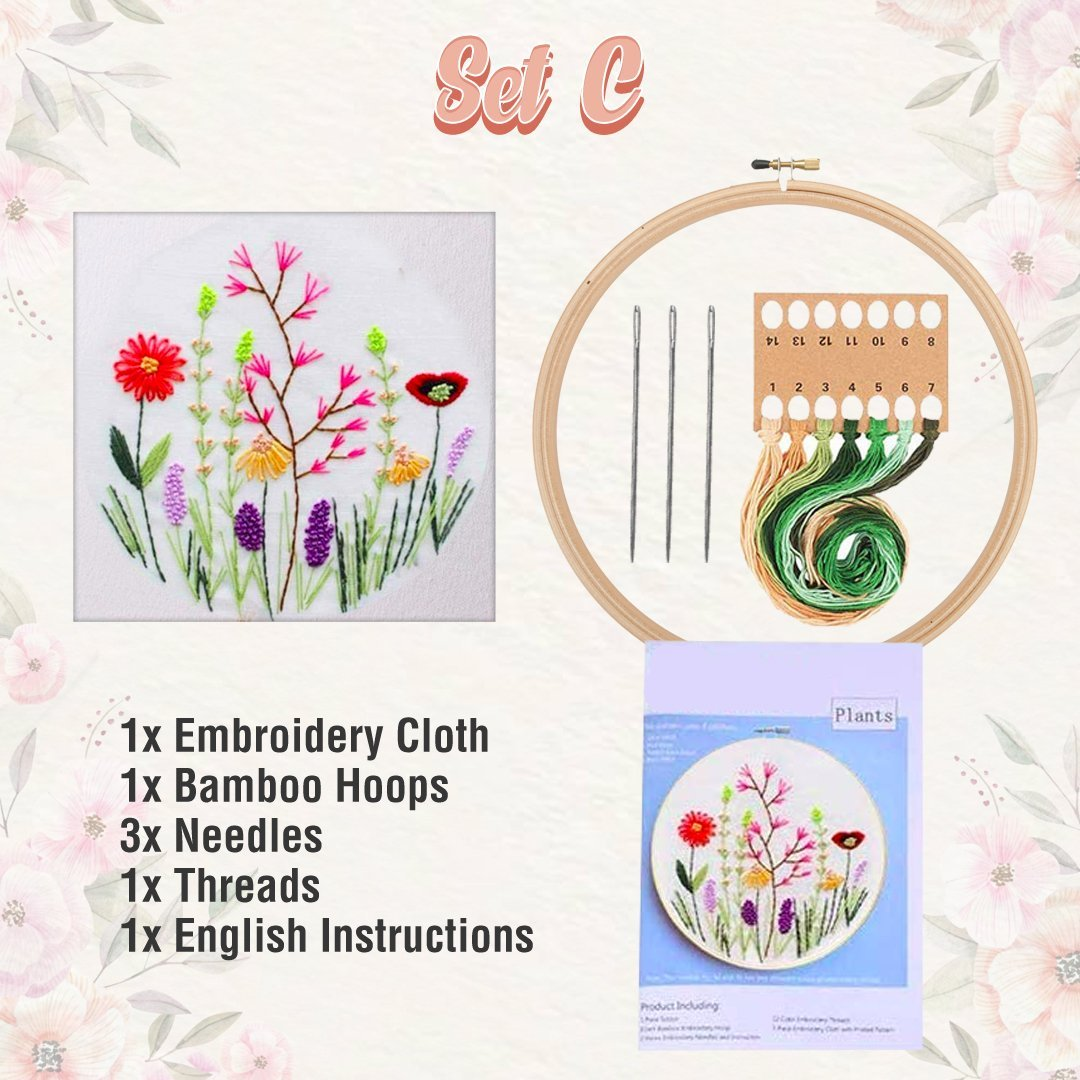 Embroidery Starter Set