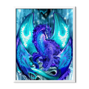 Purple Dragon Diamond Painting