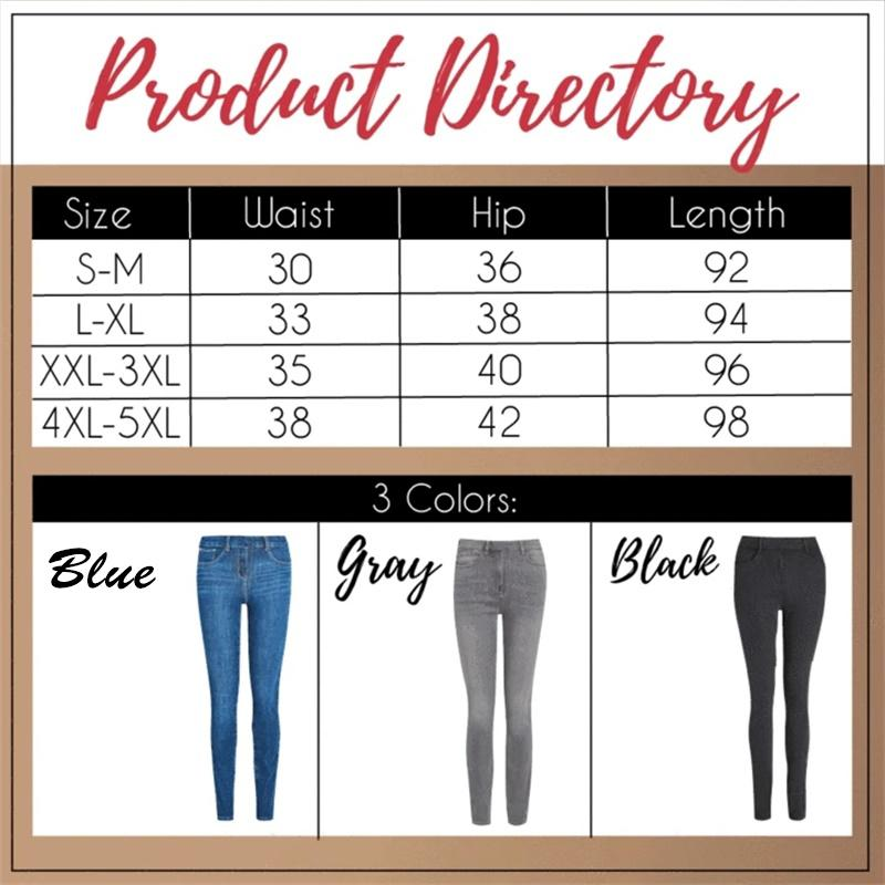 【Limited time promotion, buy one get one free】Perfect Shape Pro Slimming Jeans Leggings