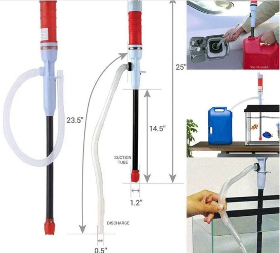 Portable Electric Liquid Transfer Pump