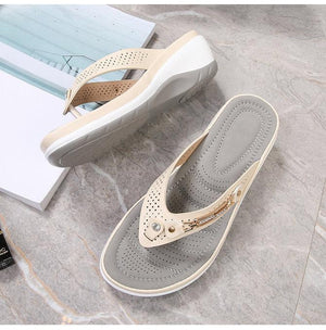 🔥50% OFF TODAY🔥Women Soft Arched Sole Comfortable Casual Slippers