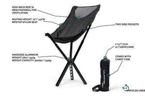 2020 NEW Full-Height Ultra-Light Caming Chair