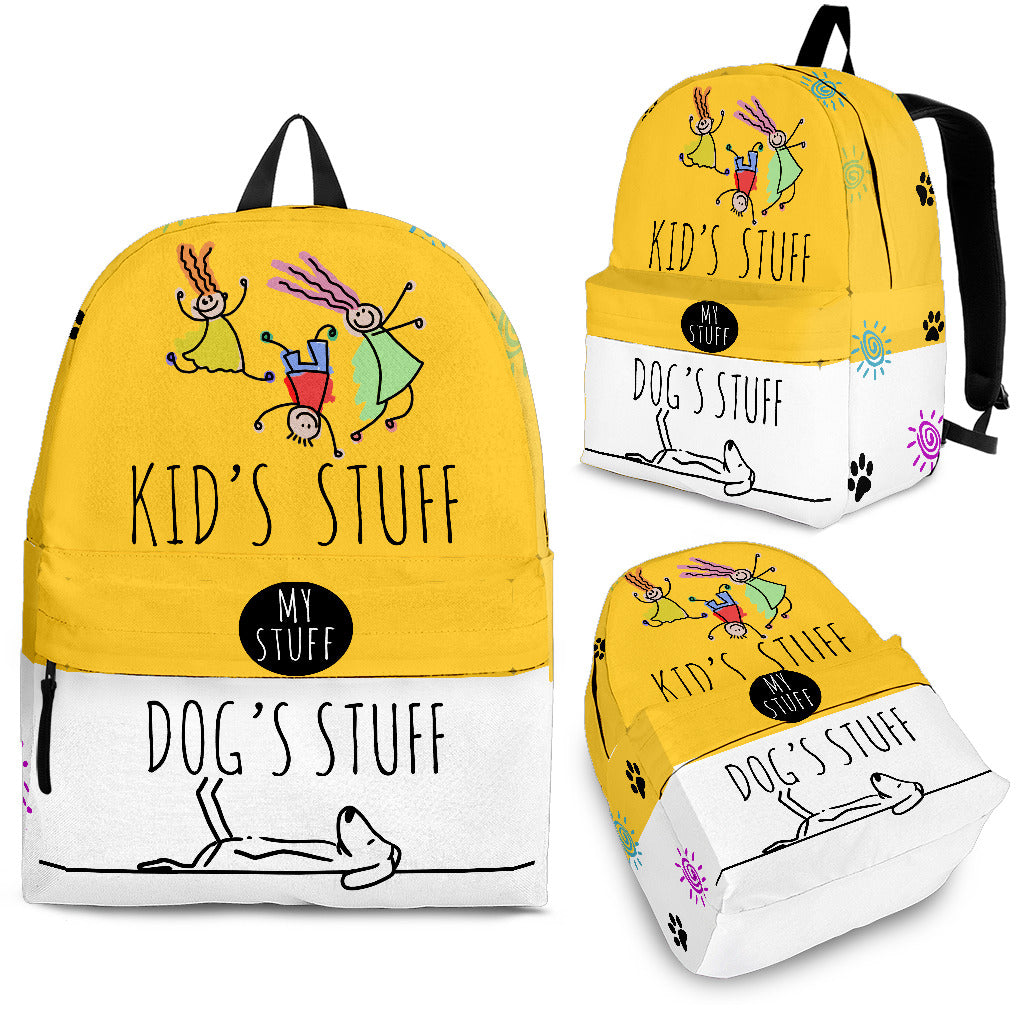 Kids And Dogs Backpack