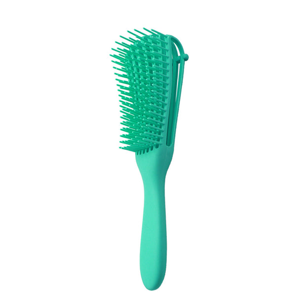 Curly Hair Comb-Knot Detangling Hair Brush Massage for Curly Hair Eight-claw