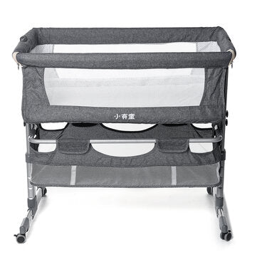 Adjustable Portable Folding Travel Cot Portacot BABY BED SIDE SLEEPING BASSINET