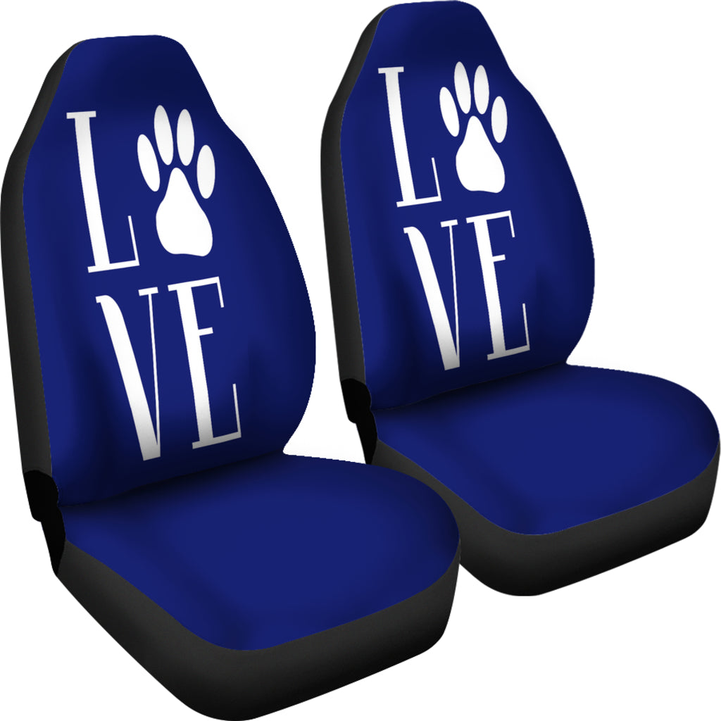 NP Love Dogs Car Seat Covers