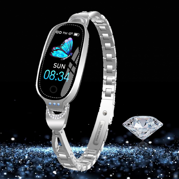 Premium Waterproof Women Smartwatch for Apple & Android phone