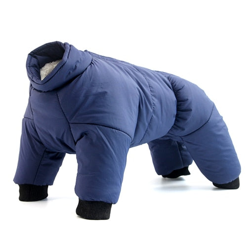Super Warm Dog Clothes Winter Coat Waterproof