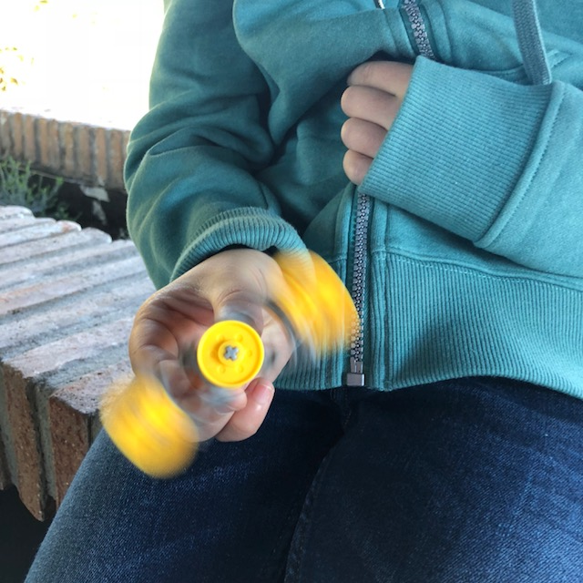 Spinner armable