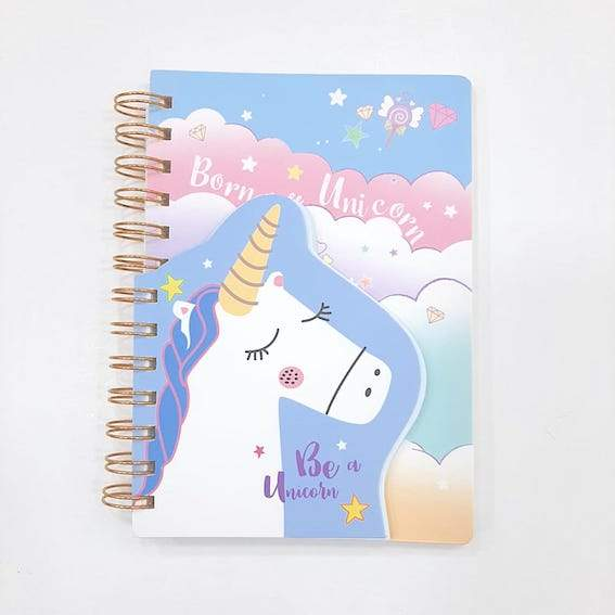 Cuaderno doble unicornio