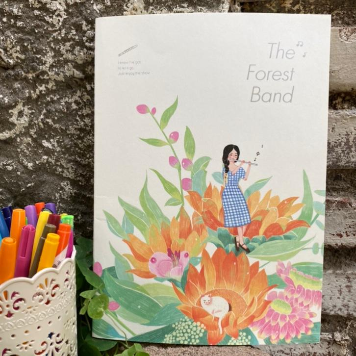 Cuaderno L forest band