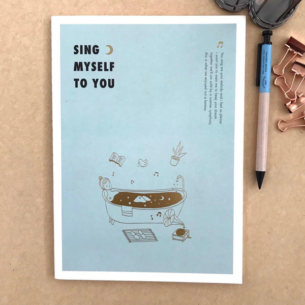 Cuaderno L Sing Myself to you