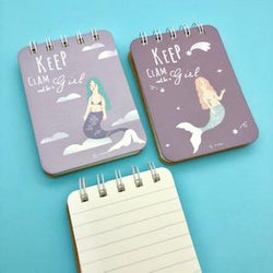 Mini libretas sirenas