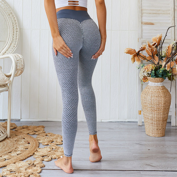 European US style Peach Hip Fitness Women Yoga Pants Tight Tummy Seamless Hip pants  FT180Z