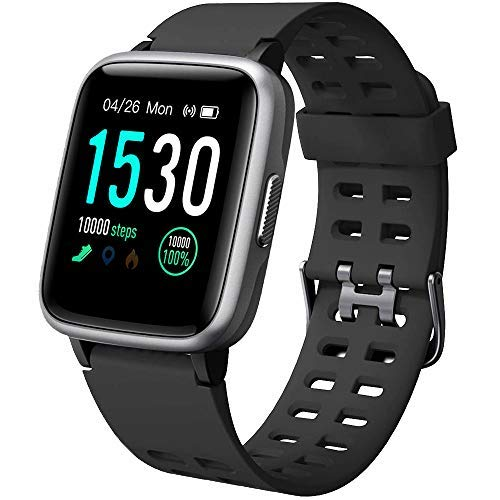 SmartWatch Orologio Fitness Uomo Donna Cardiofrequenzimetro IP68 Smart Watch Da Polso Contapassi Smartband Activity Tracker Per Android IOS