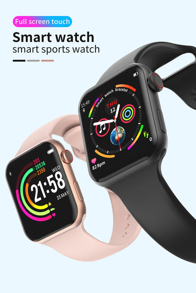 "F10 Smart Watch IWO 8 Lite 1.54""IPS Touch 44mm Watch 4 Heart Rate Blood Pressure Multi Sport Mode Sport Smart Bracelet For iOS Android"